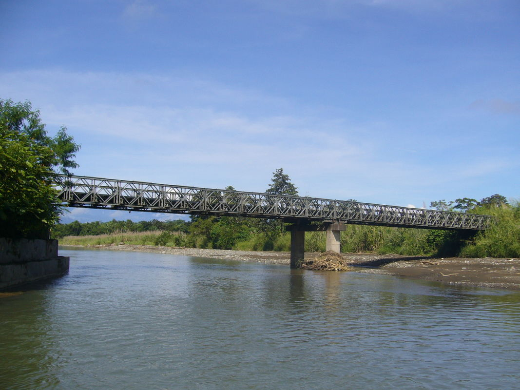 Prefabricated Delta Bailey Bridge High Stiffness For Commercial