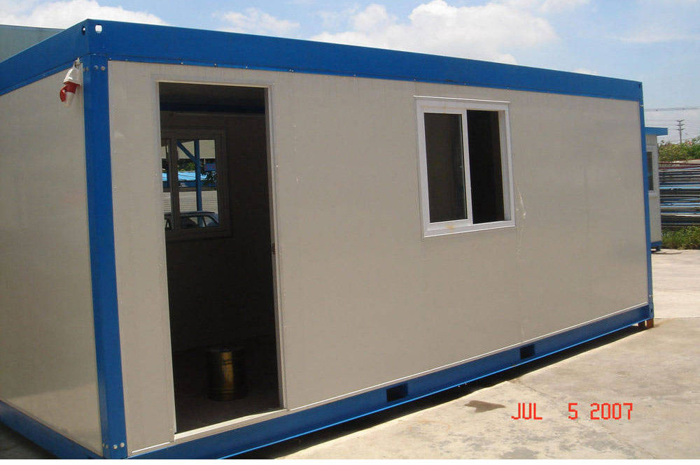 Modular House Steel Modular House used for a variety of purposes including storage, work spaces and living accommodation