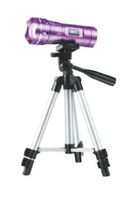 Purple Flood Rescue Equipment Emergency Flashlight Tripod Night Fishing Light