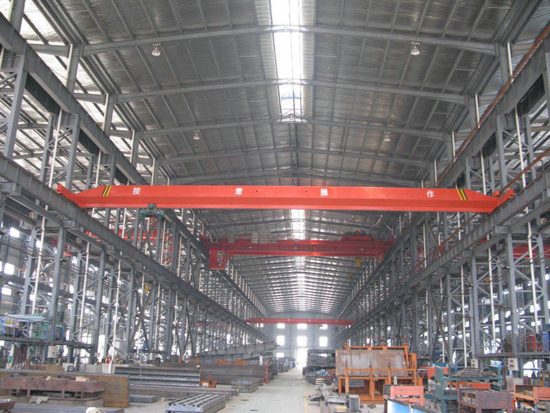 General Light Weight High Strength Steel Building Structures for Railway Stations, Stadium